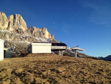 The new chairlift Tschein is nearly completed