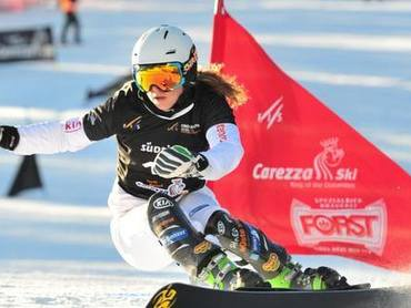 Ready for the Snowboard FIS World Cup Carezza