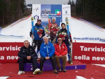 Il nostro Florian è campione italiano di gigante