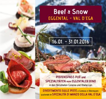Beef & Snow im Eggental