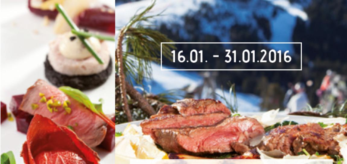 Beef & Snow in Val d'Ega