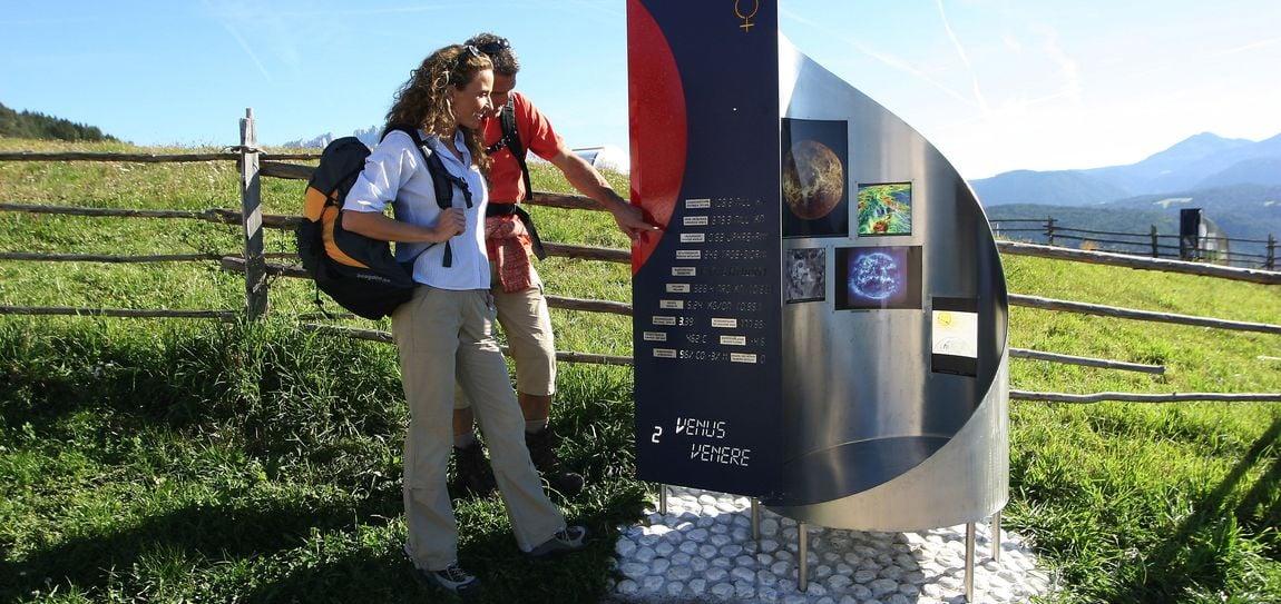 Il Sentiero dei Pianeti in Val d'Ega