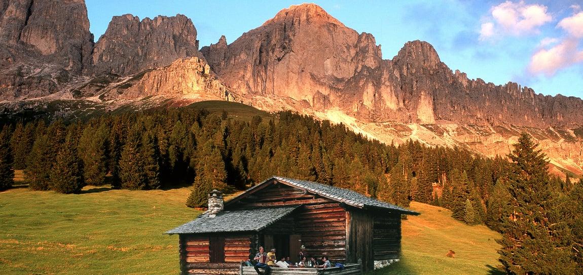 XV. King Laurin hut-to-hut trail