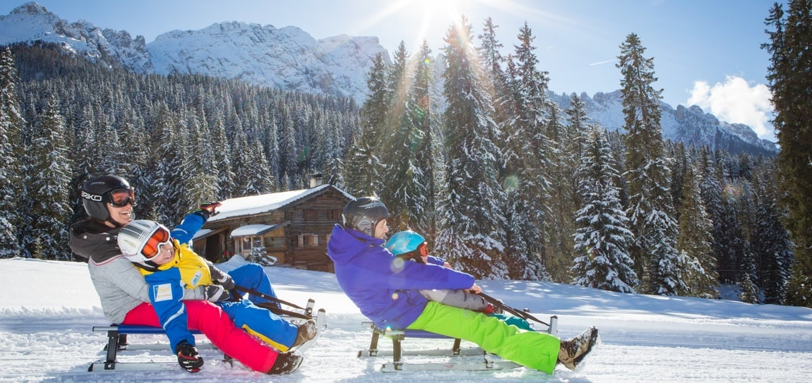 Toboggan&BBQ: Family day with tobogganing and rental of a BBQ hut