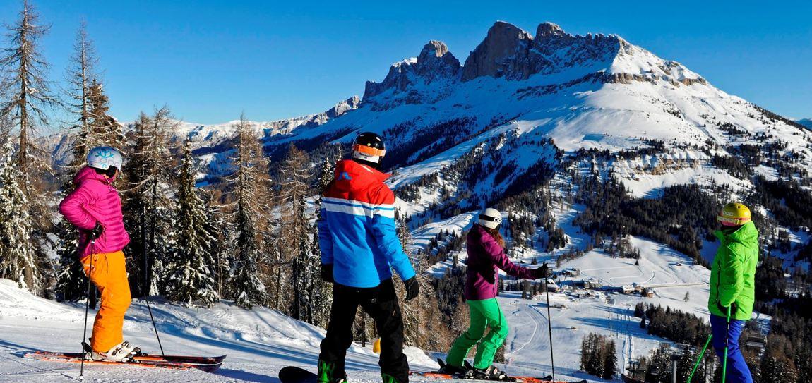 Dolomiti Panoramatour - Skisafari unter Rosengarten und Latemar