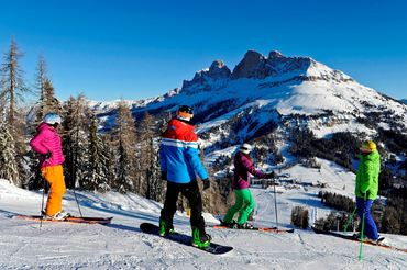 Dolomiti Panorama Tour – Ski Safari in the Rosengarten and Latemar Mountains