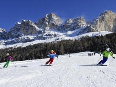 Latemar circuit ski safari
