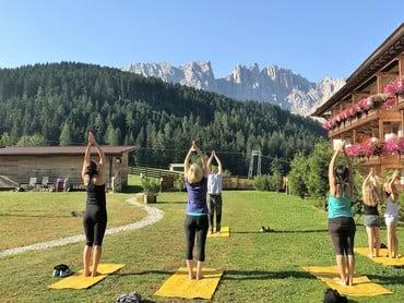 Novità: programma fitness e benessere al Moseralm
