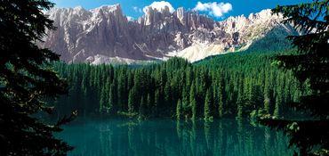 Nel mondo delle leggende - La sirenetta del Lago di Carezza