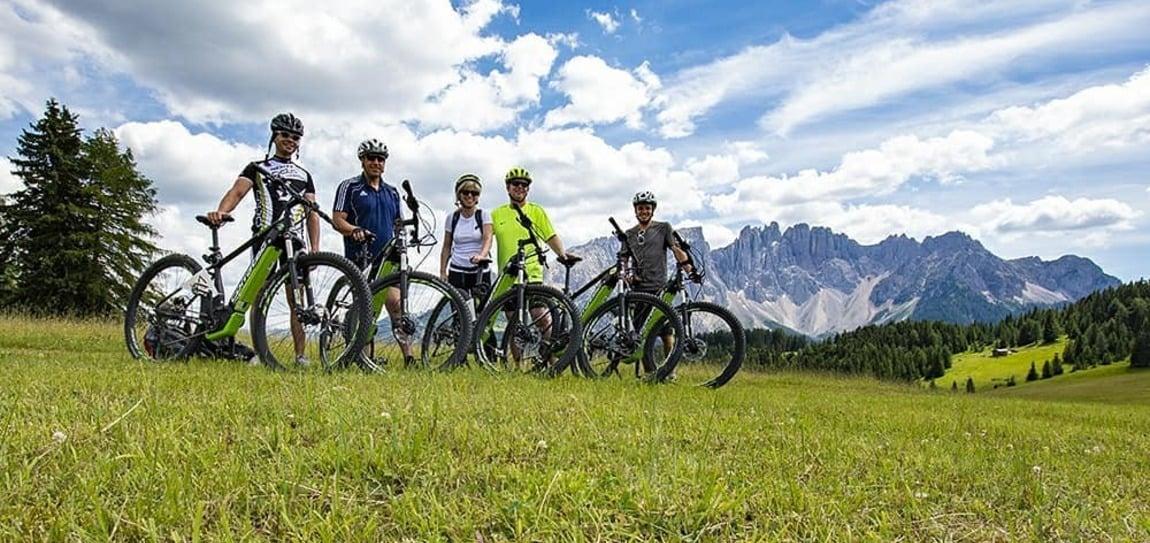 Noleggio E-Mountainbike