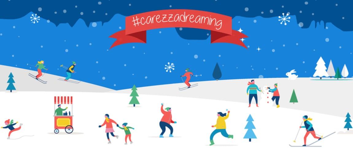 NEW this winter season: #carezzadreaming INSTAGRAM FOTO CONTEST