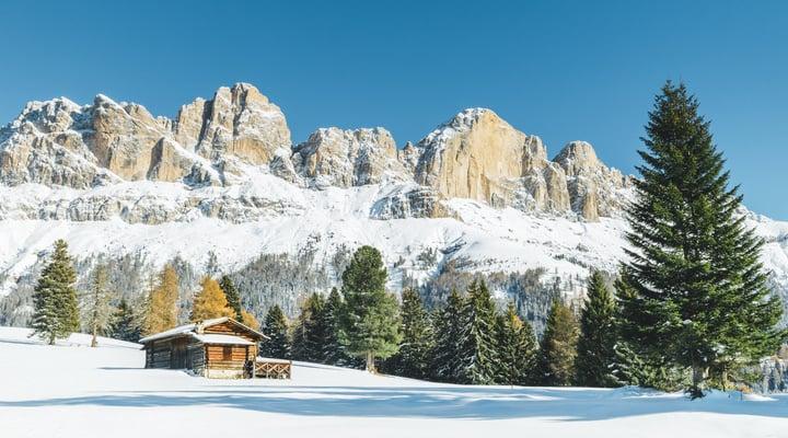 Panorama Val D'Ega
