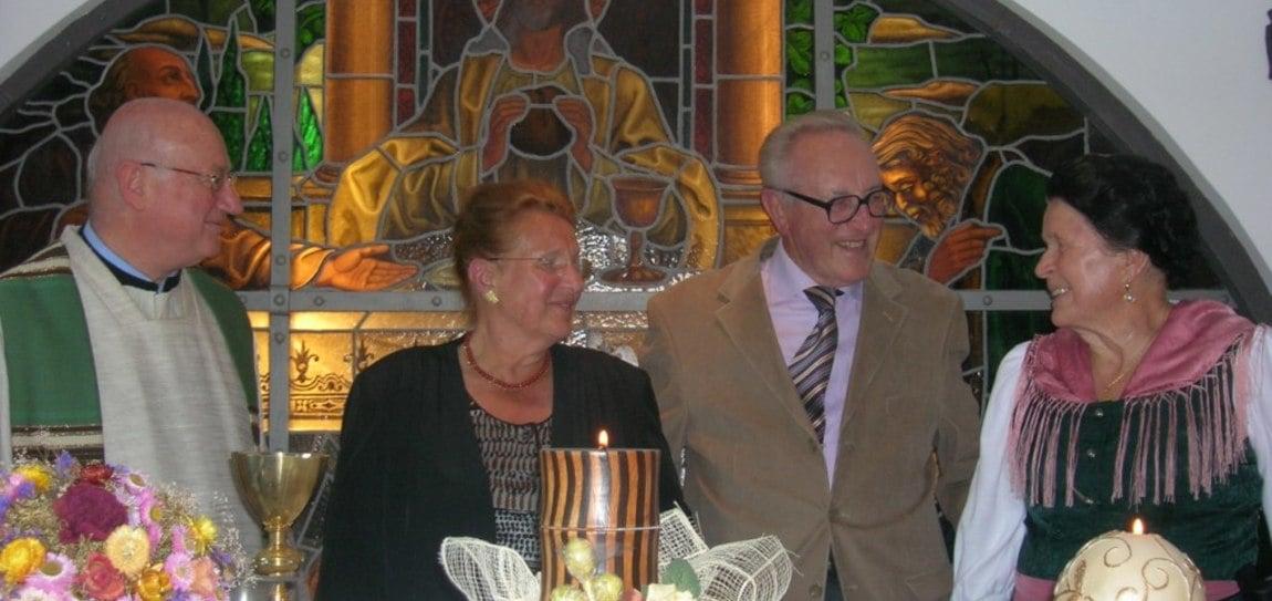 55. Hochzeitstag der Familie Bagnasco im Berghotel Moseralm