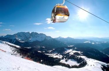 Nuove piste e impianti di risalita a Carezza - Karersee dal dicembre del 2008