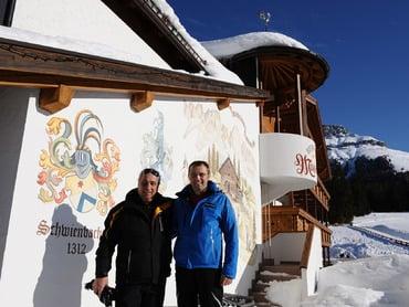 FERRARI Rennchef Stefano Domenicali zu Gast in der Moseralm