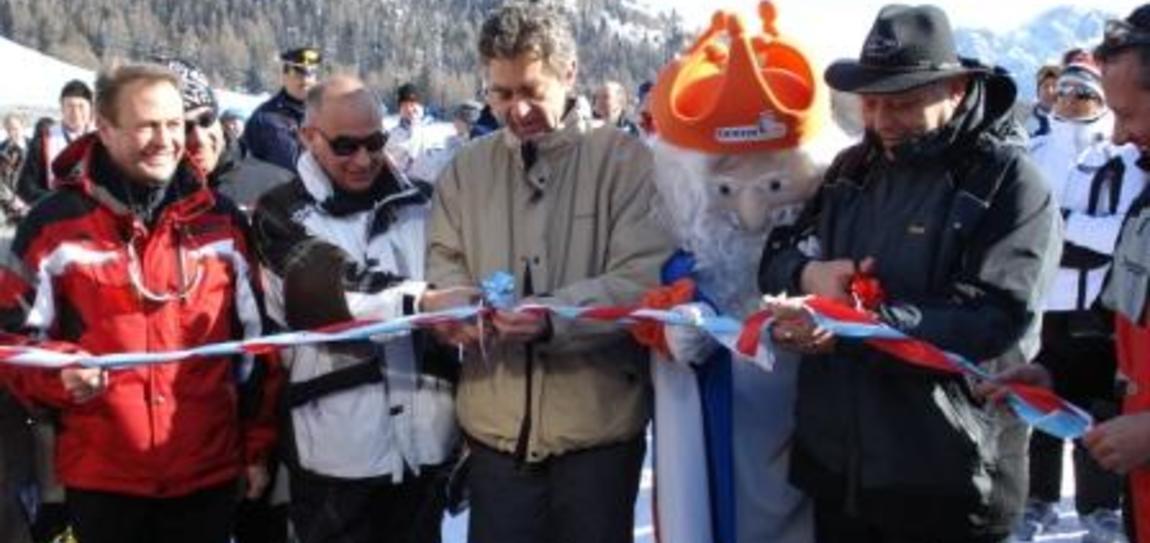 Neue Liftanlagen und Pisten am Karerpass eingeweiht