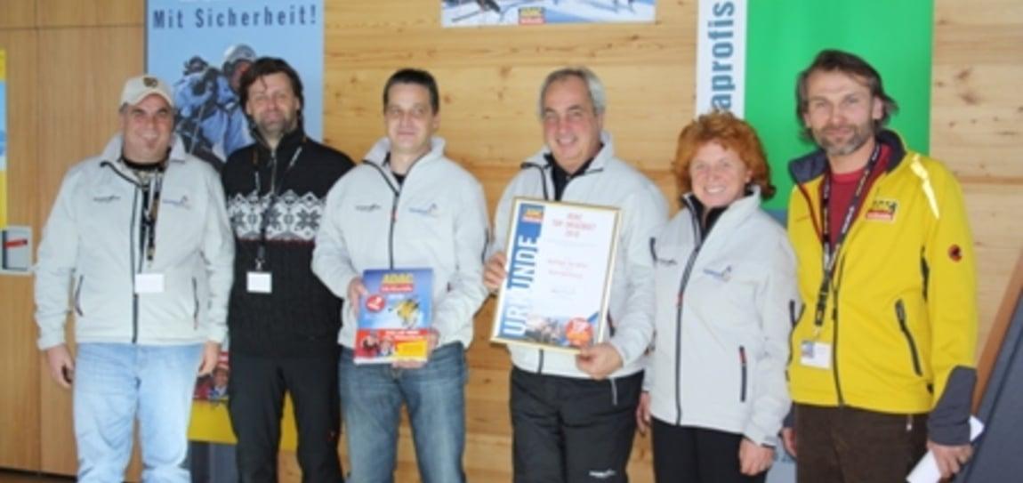 ADAC Top Aufsteiger Skigebiet 2010
