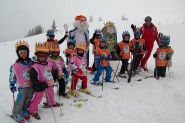 """Skitour per bambini """"Re Laurino"""" sulle piste della Skiarea Carezza-Karersee"""