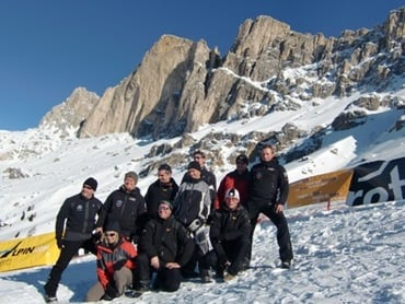 Carezza Extreme - 4. Wintertriathlon in Carezza - Karersee