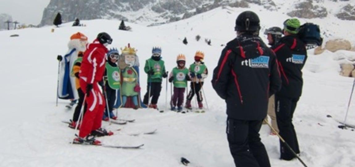 RTL Holland in der Skiarea Carezza - Karersee