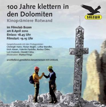 100 Jahre klettern in den Dolomiten
