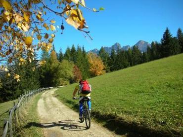 Biketransport mit Sessellift Laurin I