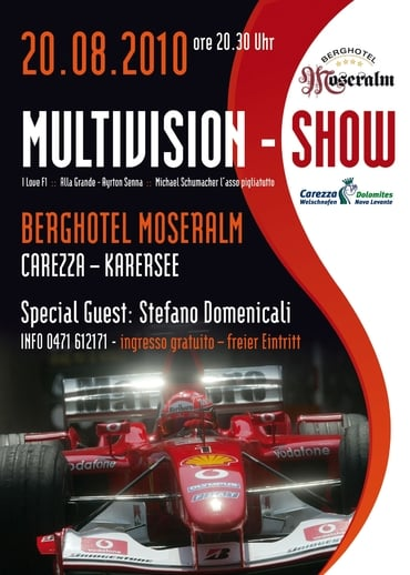 Multivisionsshow with Stefano Domenicali