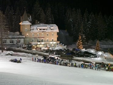 Carezza Snow Night