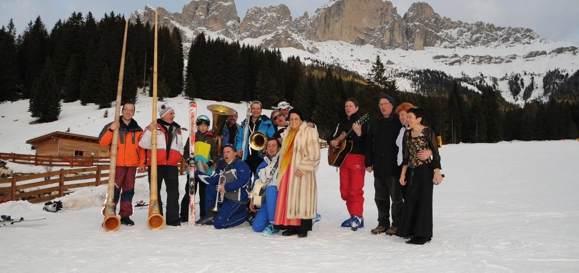 60 years Carezza Ski