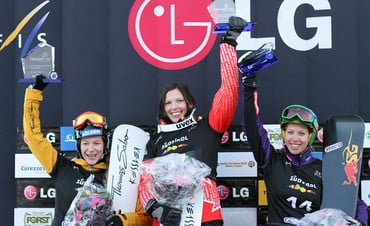 Results womens competition Snowboard FIS World Cup Carezza 2011