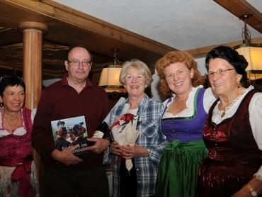 Gästeehrungen auf der Moseralm
