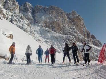 Zona sciistica climatica alpina: Escursione con Georg