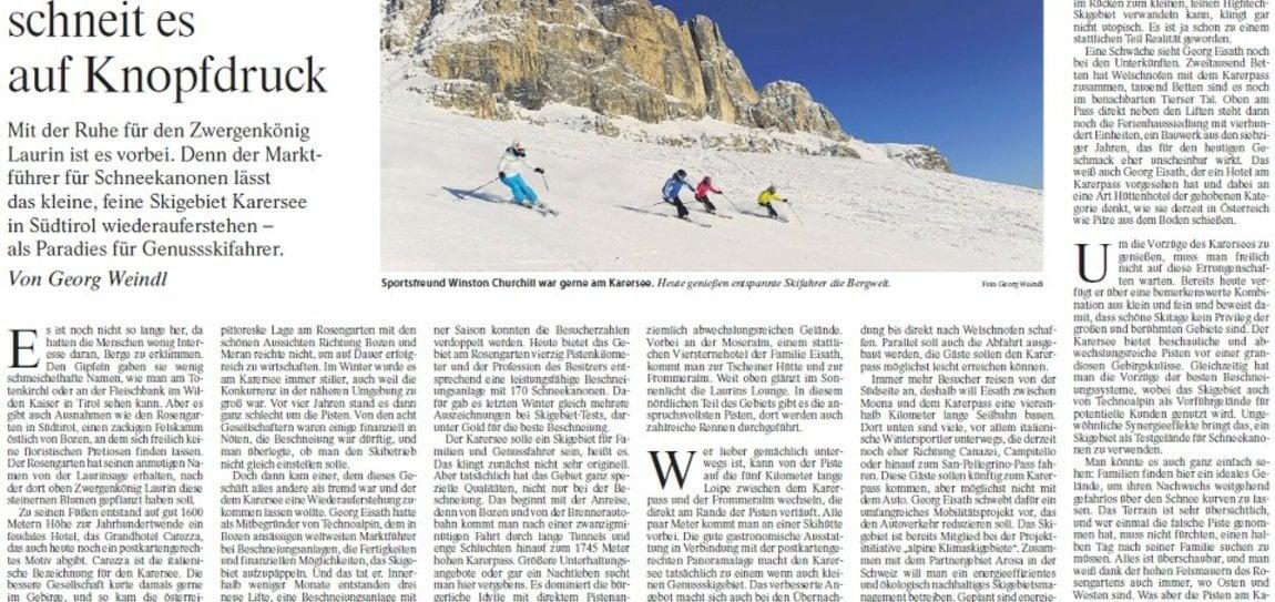 Artikel in der Frankfurter Allgemeinen Zeitung