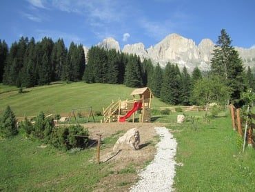 The new playground at Moseralm!