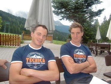 Tecnica: new sponsor for Florian and Michael