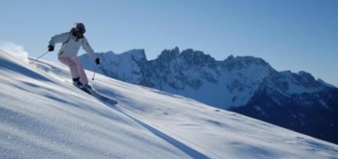 Die Geschichte des Skigebiets Carezza