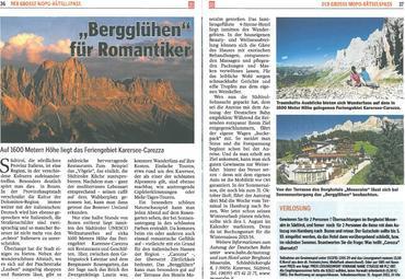 """""""Bergglühen für Romatiker"""""""