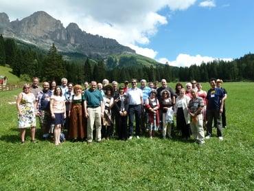 Meeting internazionale dell' INTERNATIONAL PLANETARIUM SOCIETY (IPS) a San Valentino in Campo con pranzo al Moseralm