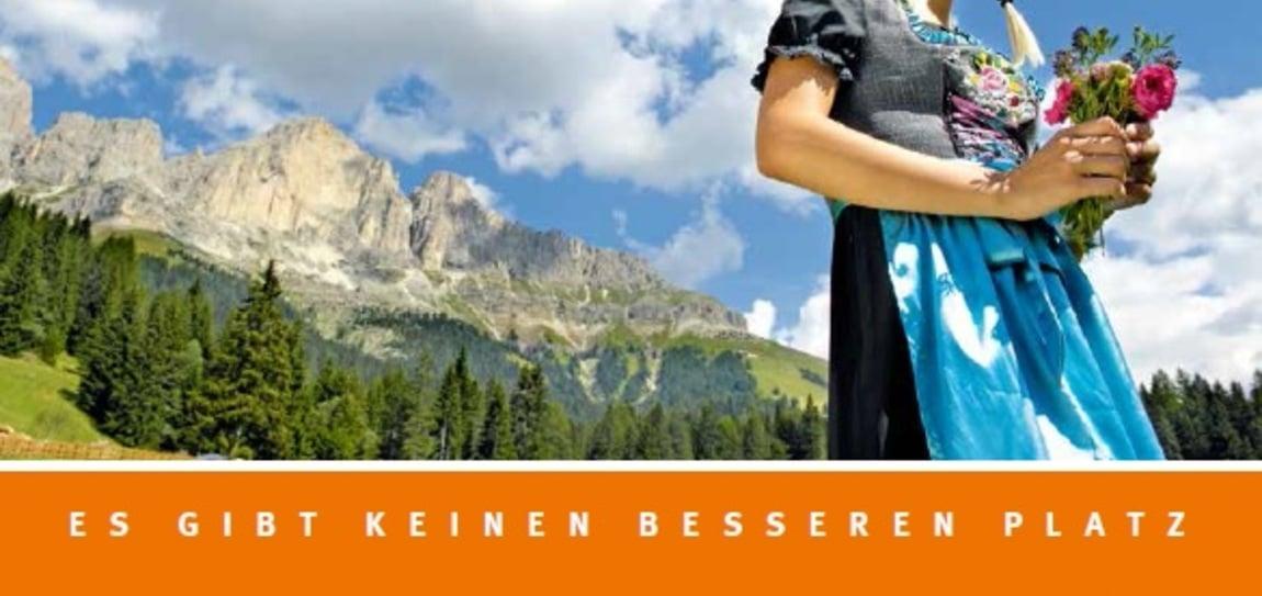 """La nuova brochure """"Almzeit"""" 2014 è pronta!"""
