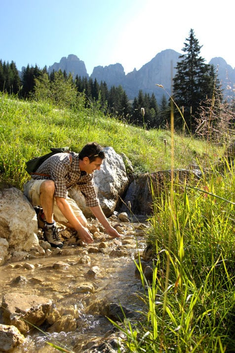For mountaineers and pleasure hikers