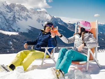 Vacanza invernale sulle piste del Carezza Ski