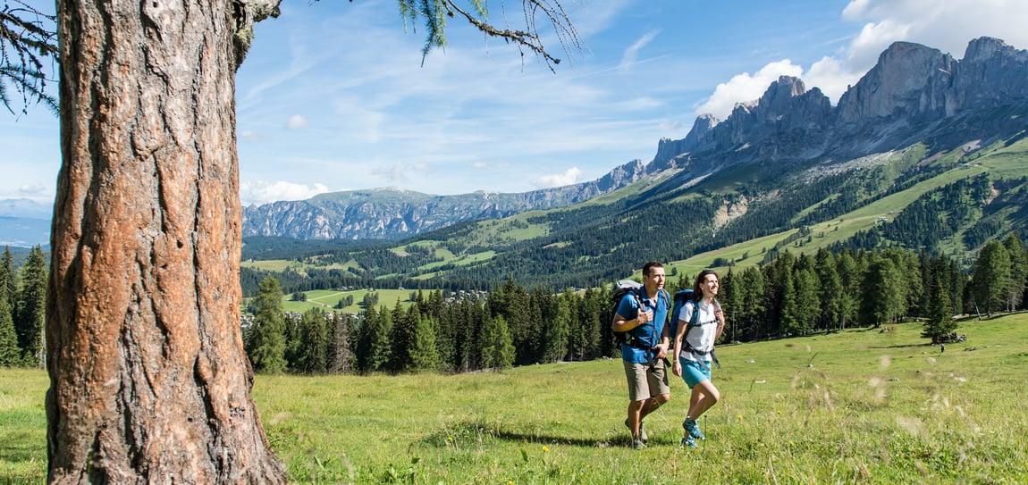 Hiking paradise Rosengarten