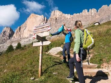 Paradiso escursionistico Rosengarten