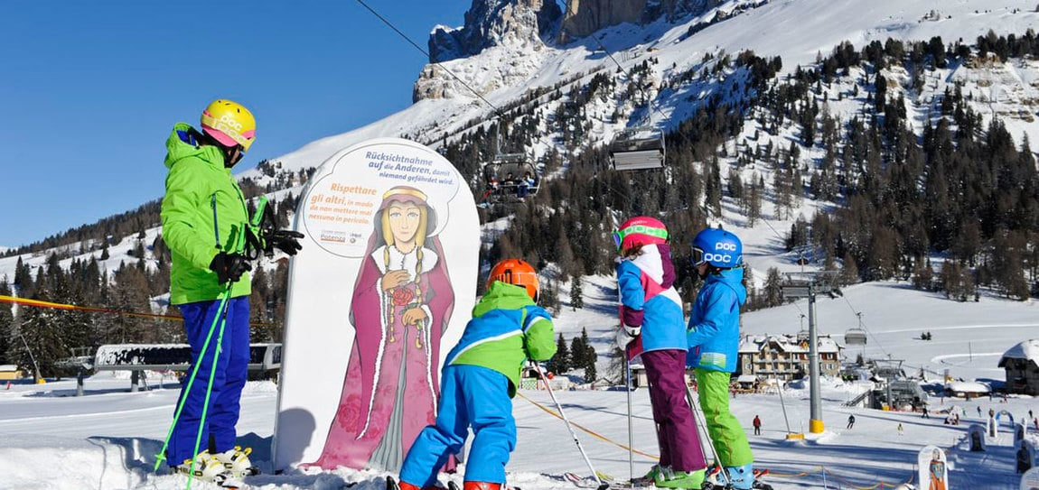 Family Fun Lines Carezza and King Laurin snowpark